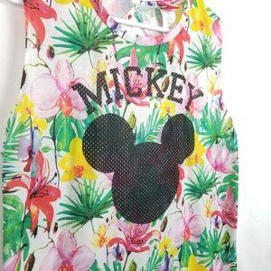 Disney Tops - Disney Mickey Tropical Tank